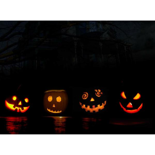Halloween werichova vila workshop děti kampa